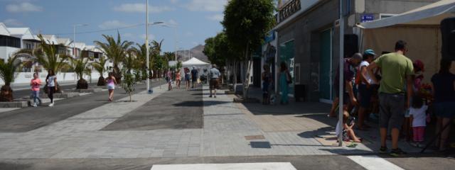 La Zona Comercial abierta de Playa Honda queda inaugurada con una amplia agenda de actos para todos los públicos