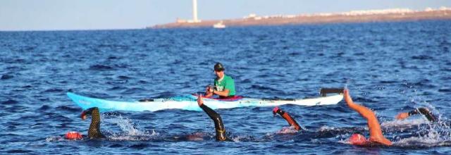 La Travesía La Bocaina cumple 15 años uniendo Playa Blanca  y Corralejo