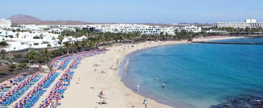 Lanzarote, uno de los destinos más demandados por sus playas en 2017