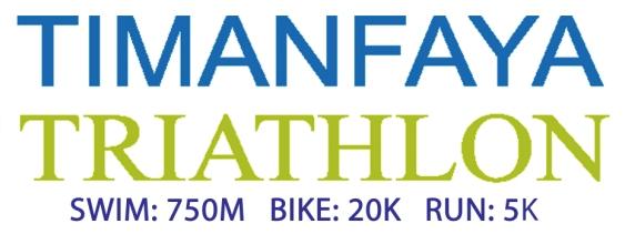Los triatletas del Training Camp Personal Running participan en la Timanfaya Triatlón