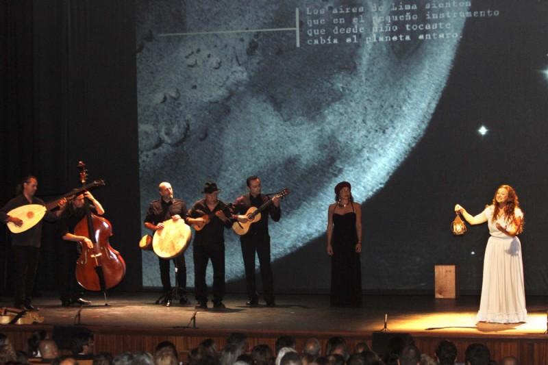 Un discurso esparanzador y optimista del presidente del Cabildo y la actuación de «Alegransa» centraron la celebración del Día de Canarias en Lanzarote