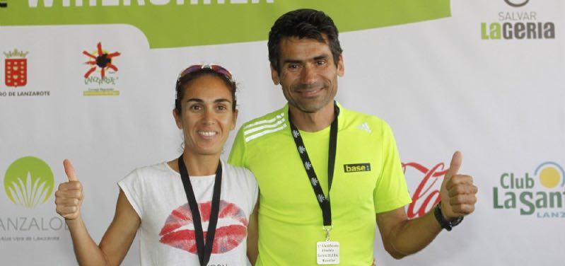 Matias Ojeda, ganador absoluto masculino de la séptima edición de la Winerun Lanzarote 2015