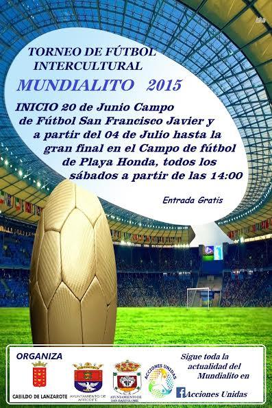 mundialito 2015 futbol