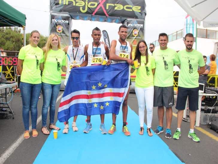 Danilson Silva y Rosa Fontes, ganadores de la cuarta edición de la Tinajo X-Race