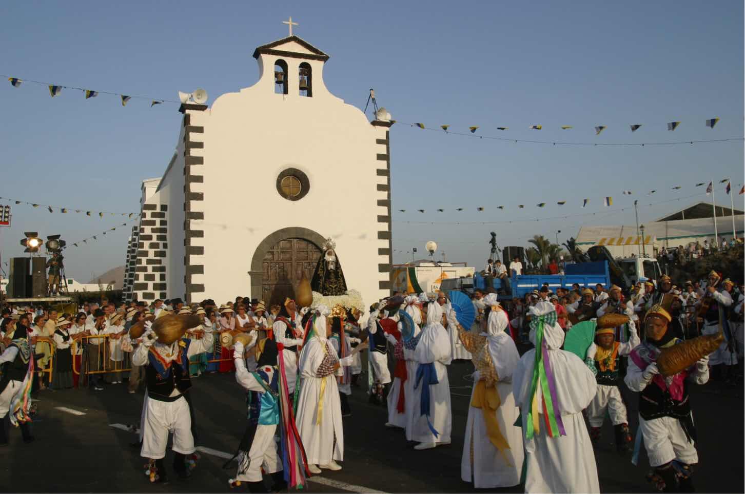 San Bartolomé saldrá en Romería a Los Dolores a las 12.00 horas el sábado 16 de septiembre desde la plaza del Ayuntamiento