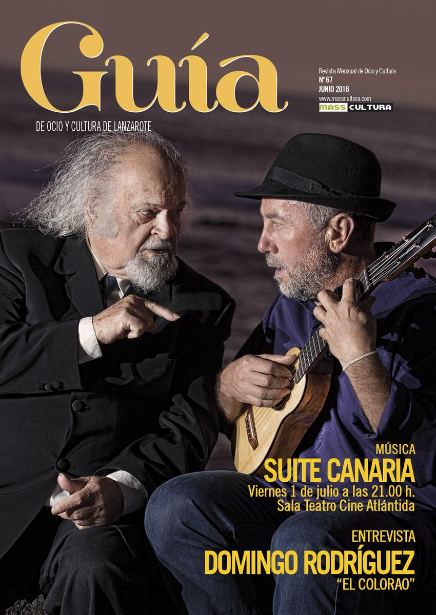 guia ocio cultura lanzarote masscultura el colorao suite canaria domingo rodriguez junio 2016