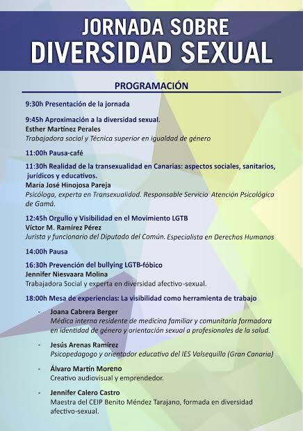 El Ayuntamiento de Arrecife organiza una jornada sobre Diversidad Sexual