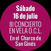 evento concierto en vela 2016