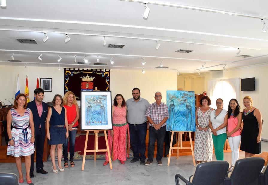 presentacion cartel fiestas san gines 2016