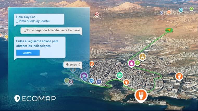 Lanzarote disfrutará de SmartEcoMap, un asistente virtual inteligente para hacer turismo por la isla
