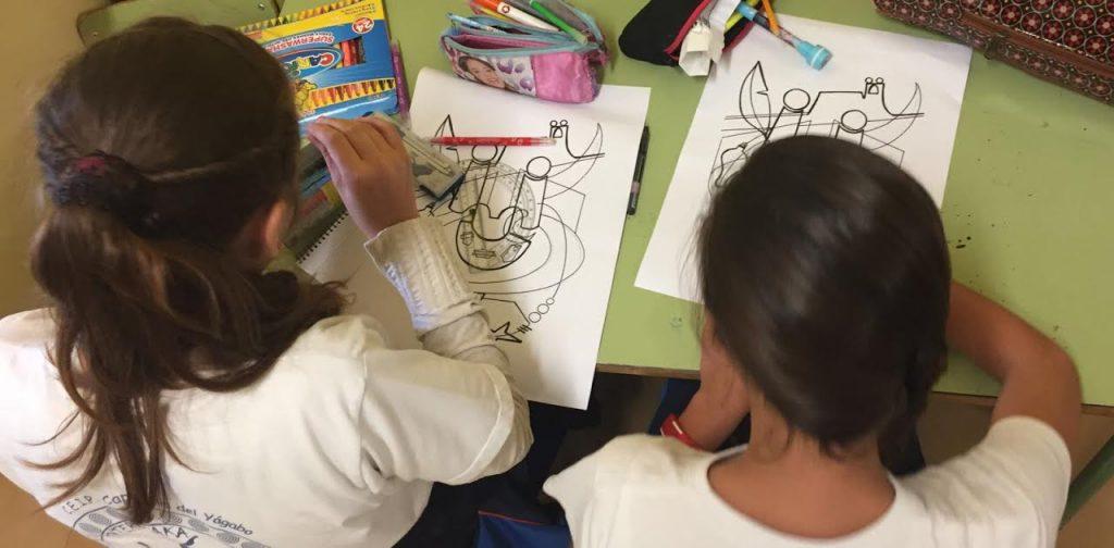 El Cartel del Carnaval de Arrecife 2017 llega a los colegios como herramienta educativa