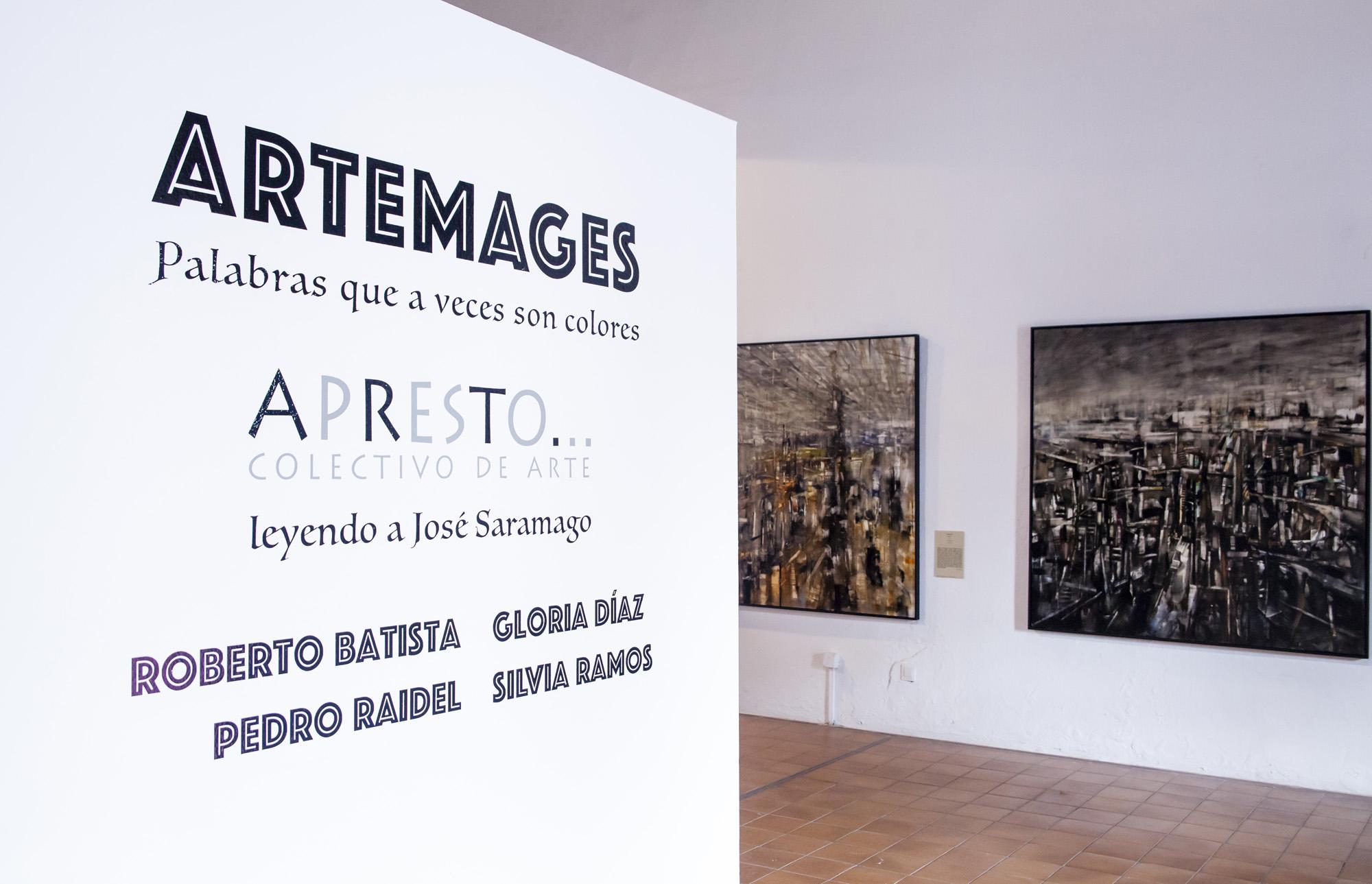 Llega a Teguise la exposición ARTEMAGES inspirada en Saramago