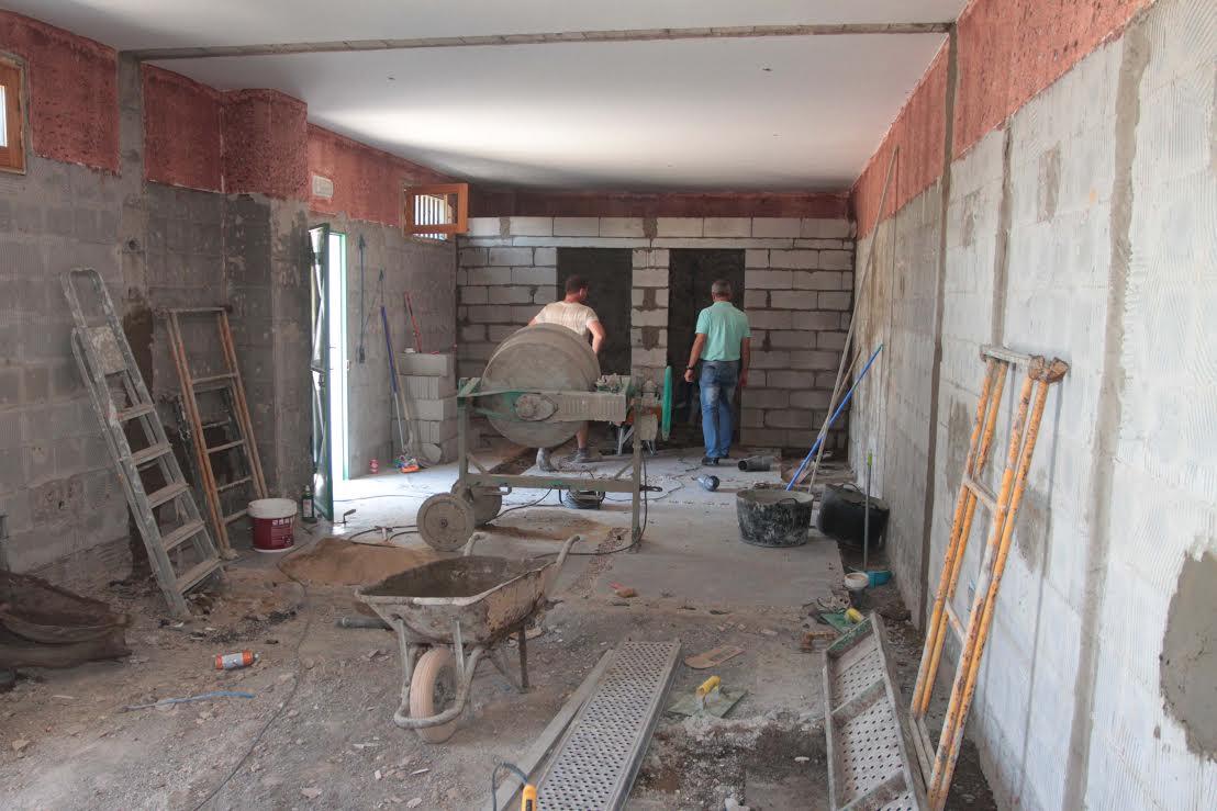 El Ayuntamiento de Arrecife acomete obras de mejora en el Parque de Los Luchadores