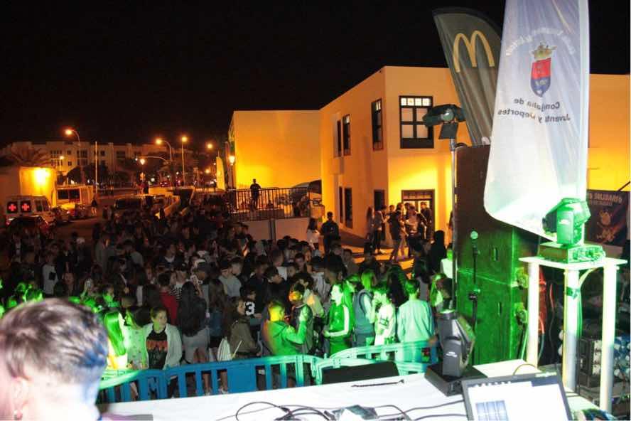Más de 800 personas se sumaron este fin de semana a la iniciativa solidaria a beneficio del joven Iván Artiles