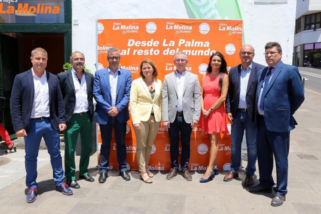 Viajes La Molina inaugura su nueva oficina en Santa Cruz de La Palma