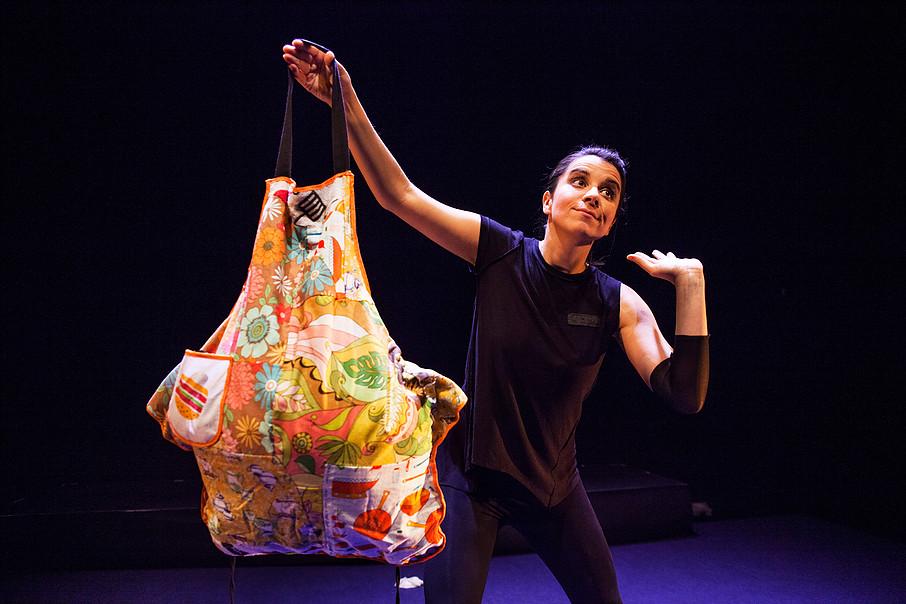 La polifacética Bibiana Monje presenta su obra Lacura en el Teatro El Salinero