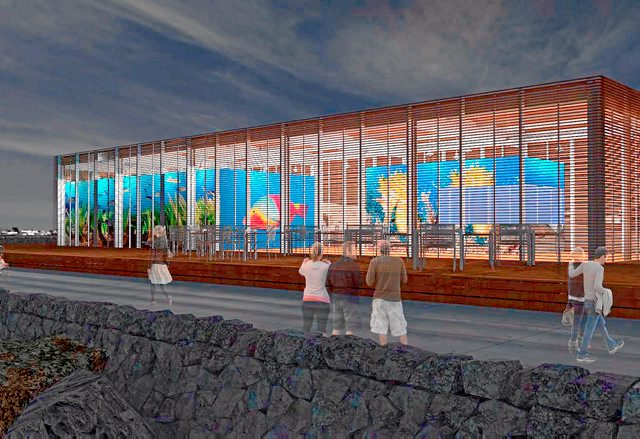 Costas autoriza a Tías la construcción de la Estación de Buceo en Puerto del Carmen