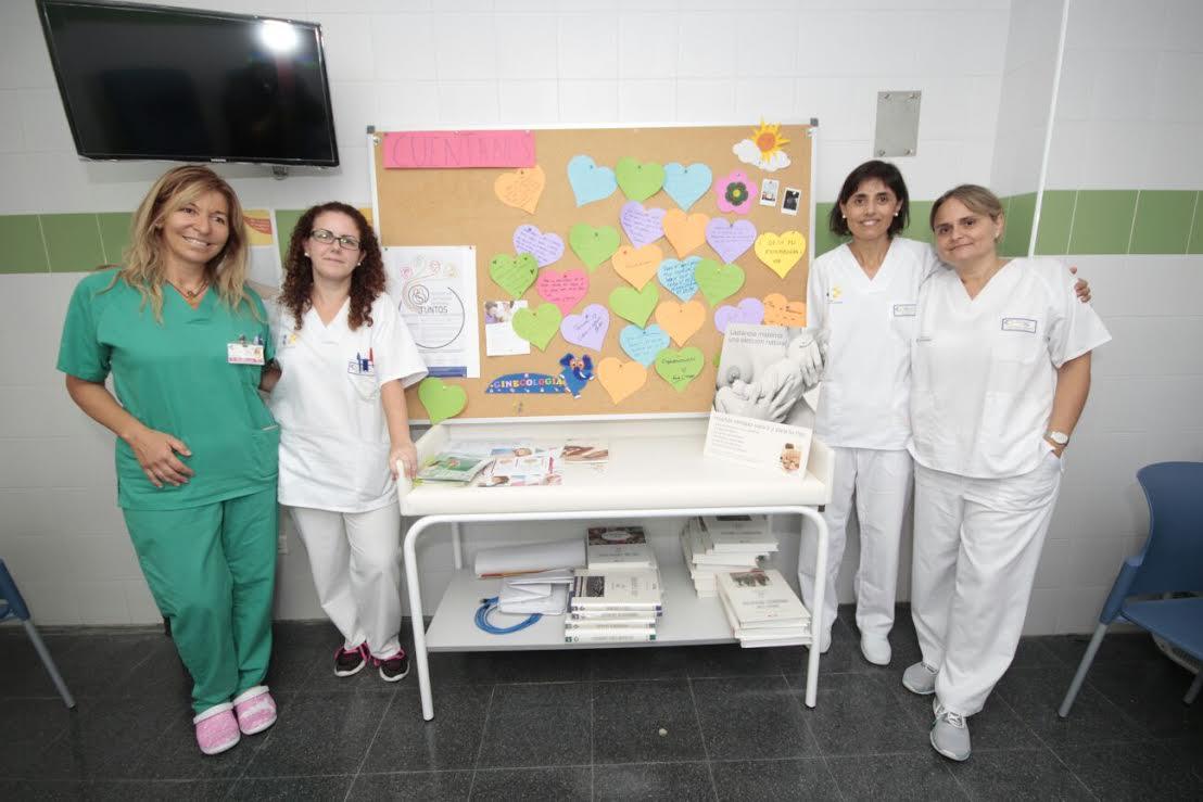 El Hospital Molina Orosa promueve la lactancia materna entre las madres de Lanzarote