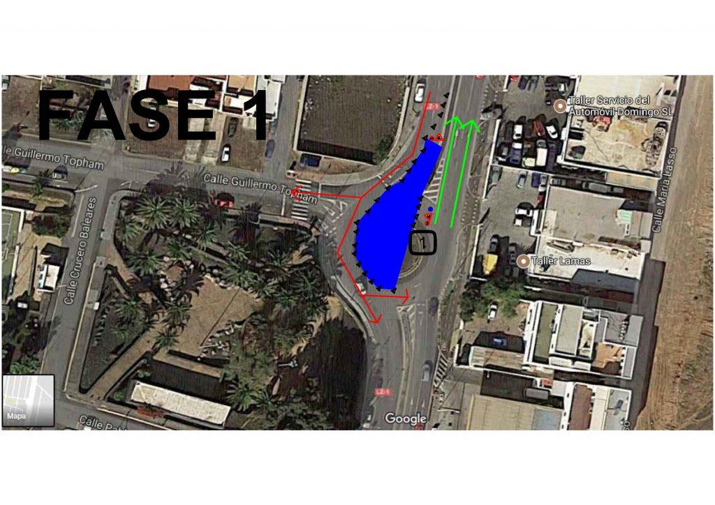A partir del lunes, 4 de septiembre, comienzan los trabajos de renovación de tuberías que afectan a dos glorietas ubicadas en la calle León y Castillo de Arrecife