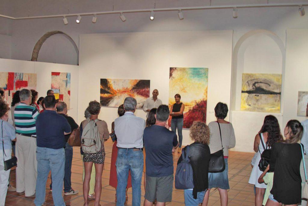 El arte abstracto de Javier Sosa, en el Convento Santo Domingo