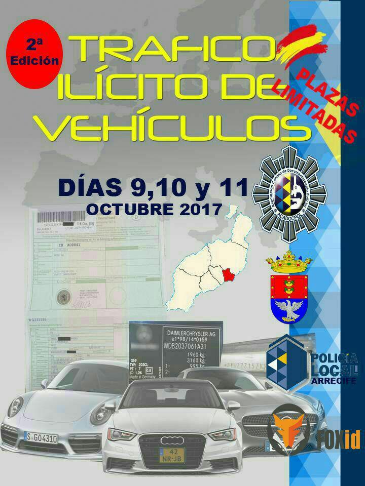 El Ayuntamiento organiza un curso sobre Tráfico Ilícito de Vehículos