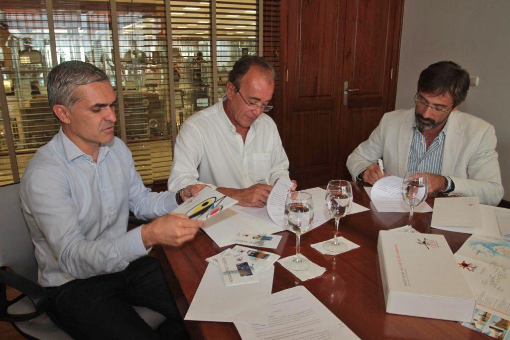 El Grupo Cabrera Medina y Turismo Lanzarote acuerdan importantes acciones promocionales relacionadas con la imagen del destino
