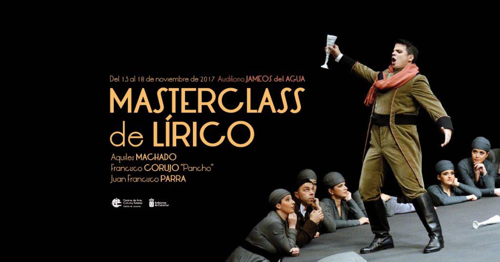 Gran gala lírica, concierto clausura Masterclass en el Auditorio de Jameos del Agua