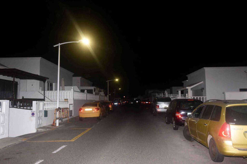 San Bartolomé sigue mejorando la eficiencia energética del alumbrado del municipio