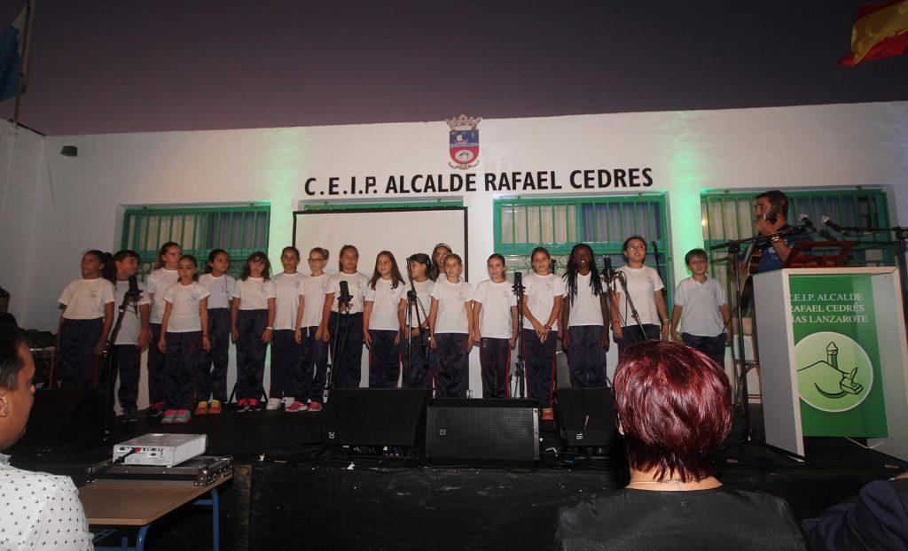 El colegio de Tías conmemora sus 40 años dedicados a la enseñanza