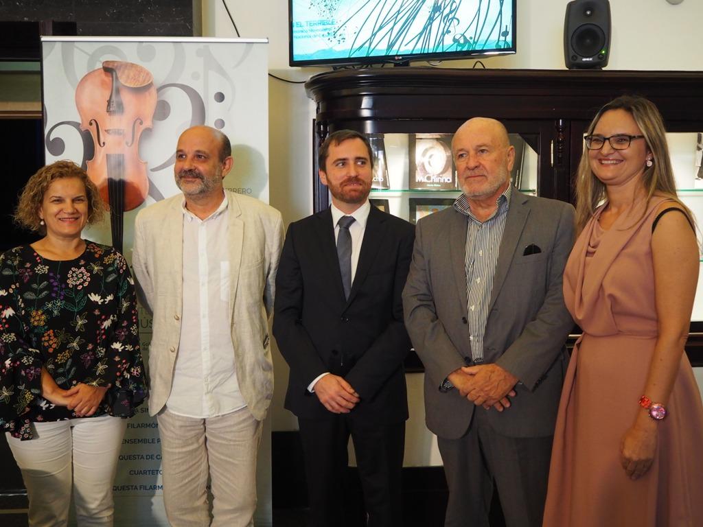 El Gobierno encomienda a Jorge Perdigón la dirección artística del Festival de Música de Canarias