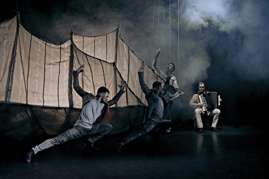El bailarín y coreógrafo Daniel Doña acerca a Lanzarote 'Hábitat', un espectáculo que aúna tradición y vanguardia