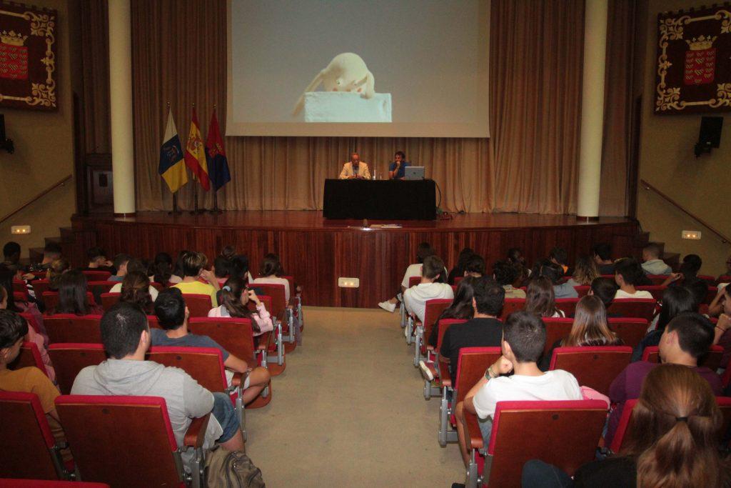 Más de 200 alumnos asisten al Ciclo de Cortometrajes Contra la Violencia de Género