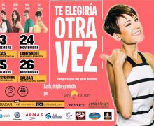 La obra «Te Elegiría Otra Vez»,  de Sara Escudero, se representa el viernes, 24 de noviembre, en Arrecife