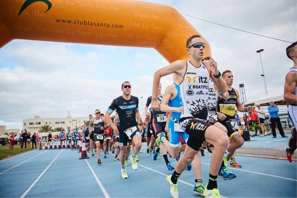 Kenneth Vandendriessche gana por segundo año consecutivo el International Lanzarote Duathlon
