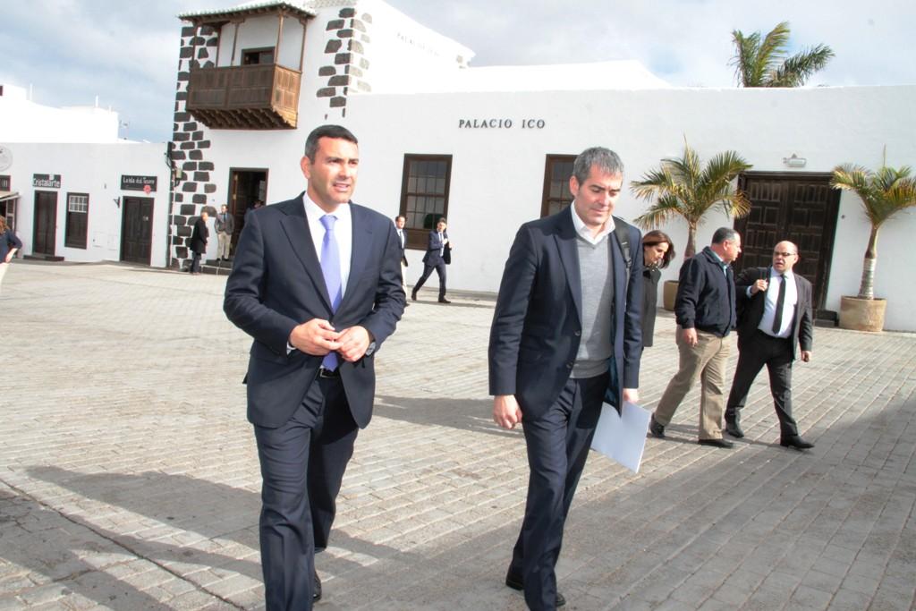 Oswaldo Betancort presenta a Canarias el proyecto para convertir la Casa Palacio del Marqués de Teguise en Museo de Historia de Lanzarote