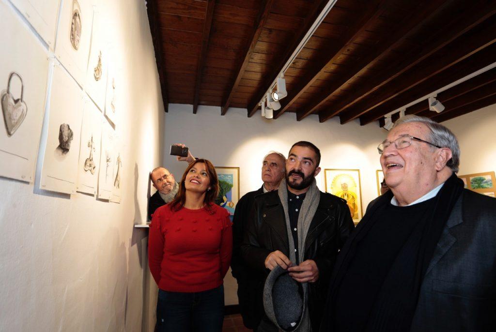 La Graciosa y el Teide, unidos por el arte