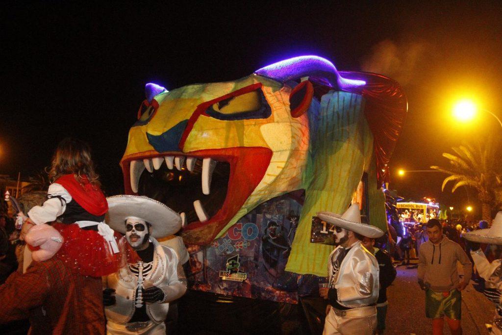 'Coco' gana el concurso de carrozas del Desfile de Arrecife