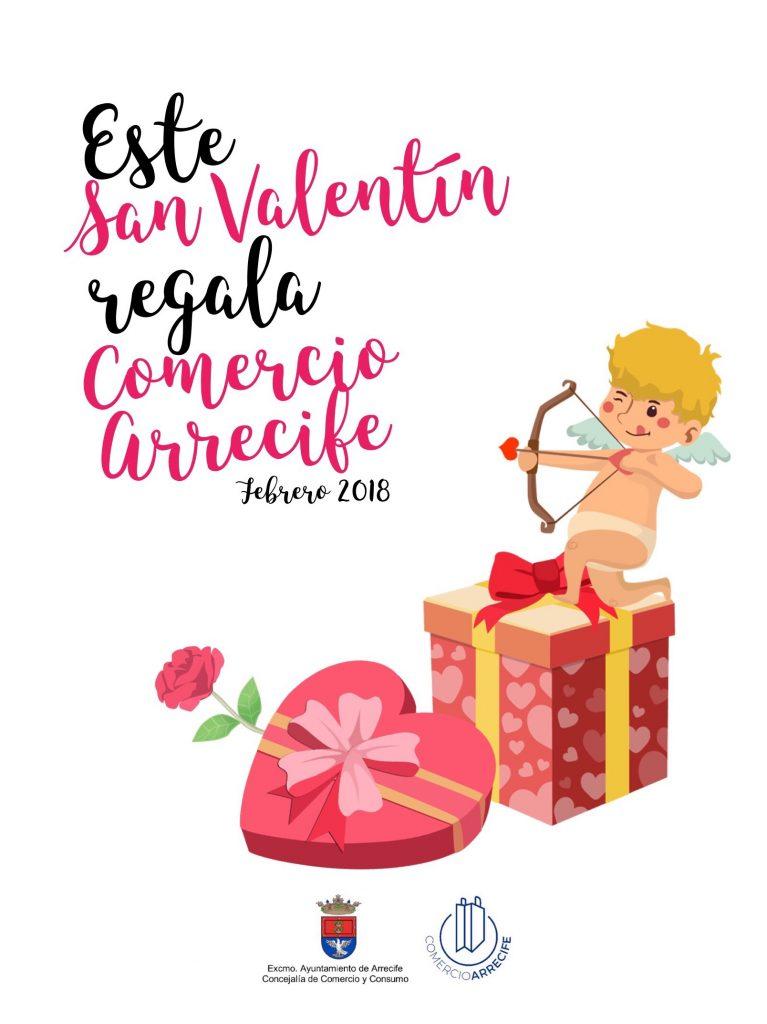 """El Ayuntamiento pone en marcha la campaña """"Este San Valentín regala, Comercio Arrecife"""""""