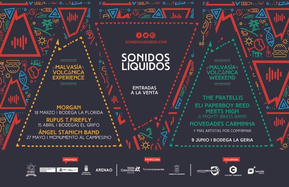 Sonidos Líquidos vuelve a escena con tres conciertos en su formato original y un esperado cierre en La Geria