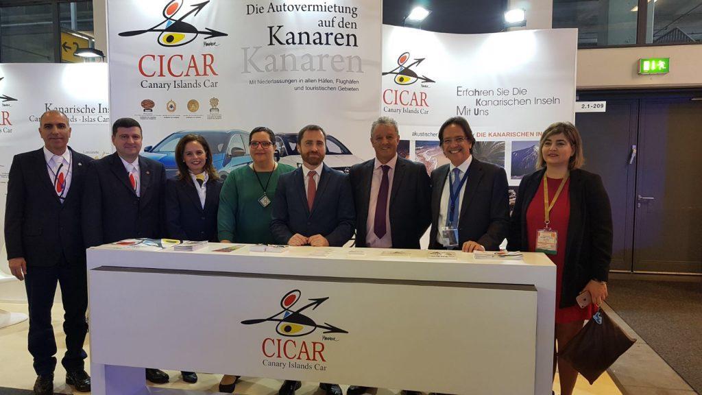 CICAR, presente un año más  en la ITB de Berlín