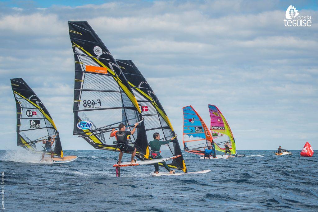 Éxito en el Proam Costa Teguise de Slalom & Hydrofoil windsurf.
