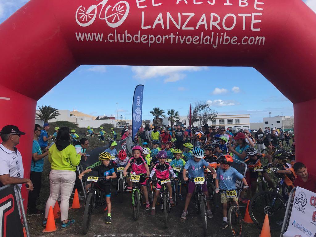 Disputada la segunda prueba de la Copa Insular de MTB – Escuelas 2018 en San Bartolomé