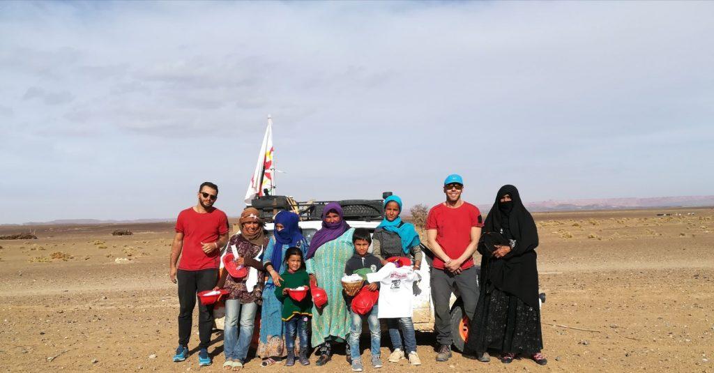 La Casa Cuna de Nador en Marruecos agradece el material que recibieron del equipo con el que colaboró el Consorcio de Emergencias en la prueba Panda Raid