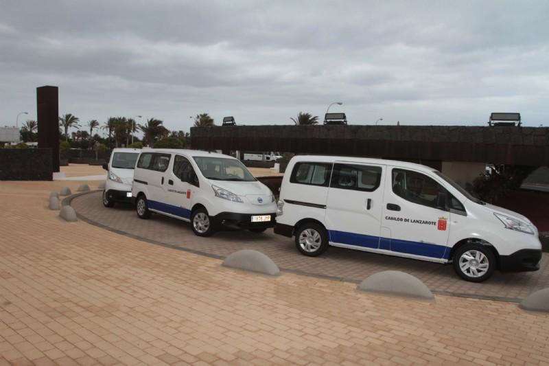El Cabildo de Lanzarote continúa ampliando su flota de vehículos eléctricos