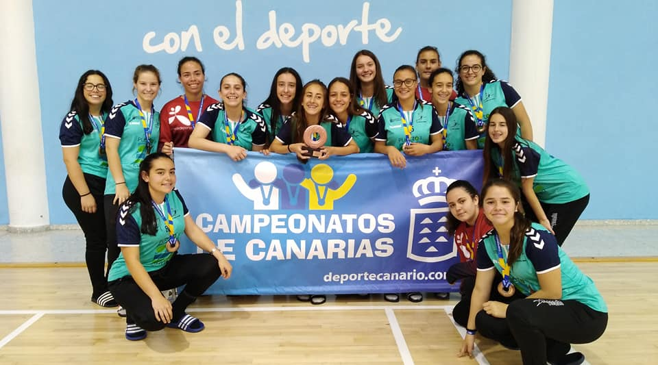Las cadetes del Puerto del Carmen logran el tercer puesto en el Campeonato de Canarias