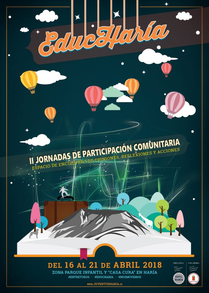 En marcha las II Jornadas de Participación Comunitaria 'EducHaría'