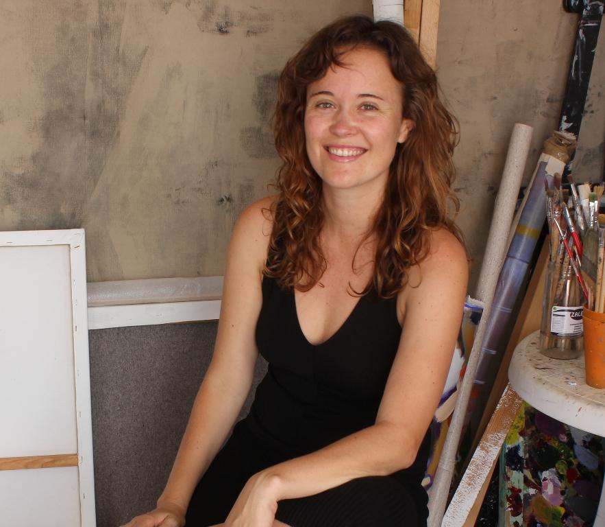 La artista Moneiba Lemes imparte en el CAAM una charla-coloquio sobre su obra