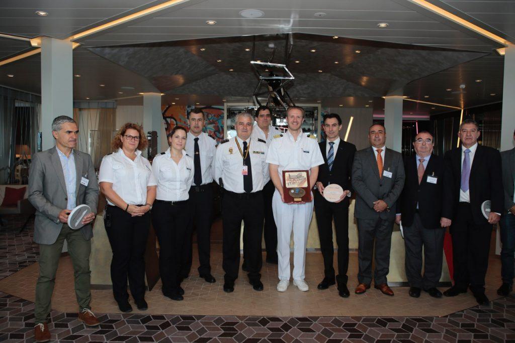 El crucero Mein Schiff 6 recala por primera vez en Lanzarote con casi 3.600 personas a bordo