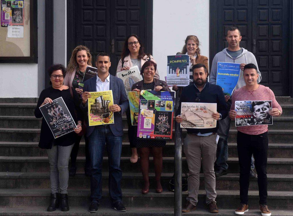 """San Bartolomé presenta la """"XI Semana Cultural de Teatro"""" que se celebrará del 12 al 22 de abril"""