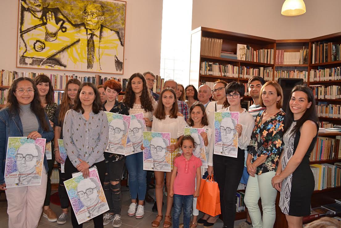 Entregados los premios Narración Corta José Saramago con la asistencia del alcalde de Tías, Pancho Hernández